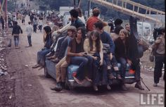 Into the Woodstock Crowd, 1969