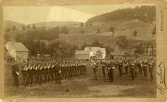 Norwich University Band, circa 1888