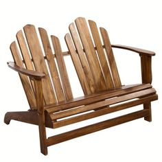 Fauteuil double Adirondack