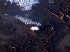 A Terra vista do espaço: astronauta registra Olho da África - Terra Brasil