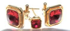Vintage 1950s / 1960s  BLING Rhinestone by TrueValueVintage, $24.00Amazing #  Play Boy # cuff links