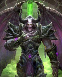 Mal'Ganis -world of warcraft art Warcraft Dota, Art Warcraft, World Of Warcraft Game, Warcraft Movie, Dark Fantasy, Fantasy Art, World Of Warcraft Wallpaper, Vampires, Character Art