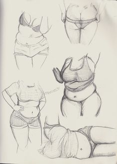 Plus size female body reference. Body Drawing, Figure Drawing, Life Drawing, Body Reference, Drawing Reference, Drawing Sketches, Art Drawings, Sketching, Drawing Tips