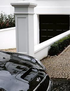 klassisch moderner Pfeiler /  classic trendy Gate and Fence Pillars  Trax-Matthies  #Bau #Haus #Garten #Pfeiler #Exterior