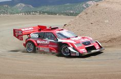 Suzuki Escudo Pikes Peak! My favorite car on Gran Turismo 4. I was able to get it to go 245mph on the 0-1000m test track