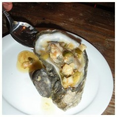 Grilled Oysters with Jalapeño Butter Sauce, by Grill Grrrl. Healthy Grilling Recipes, Tailgating Recipes, Cooking Recipes, Grilled Oysters, Grilled Seafood, Green Egg Recipes, Grilled Desserts, Oyster Recipes, Primal Recipes