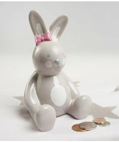 Mothercare Bunny Money Box. A great way to keep your little one's pennies safe.