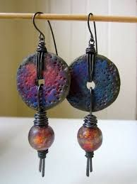 Image result for describe raku polymer clay jewelry