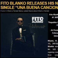 """BREAKING NEWS!!!! Another one of our Canadian Urban Music Conference ONE TO WATCH 2013 Award winners is signed to to a major record label within only 3 months of our event!    Rising star Fito Blanko was recently signed to Mr. 305 Inc., and with the signing comes the release of his first single """"Una Buena Cancion"""" (""""A Good Song""""),    READ MORE ABOUT FITO'S UPCOMING PERFORMANCE http://en.puertoricounder.com/fito-blanko-releases-his-new-single-una-buena-cancion/"""
