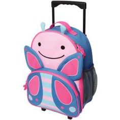 Buy Skip Hop: Zoo Kids Rolling Luggage online and save! Skip Hop: Zoo Kids Rolling Luggage – Butterfly Zoo friends roll along for travel fun! Sized perfectly for carry-ons and overnight trips, Zoo luggage. Cute Luggage, Best Luggage, Carry On Luggage, Kids Rolling Luggage, Kids Luggage, Puppy Backpack, Diaper Backpack, Diaper Bag, Baby Jogger