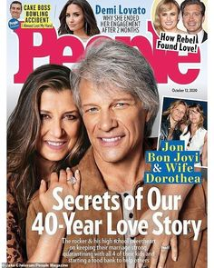 Four Kids, 4 Kids, Jon Bon Jovi Wife, People Magazine Subscription, Bon Jovi Album, High School Sweethearts, Future Wife, Family First, Cool Names