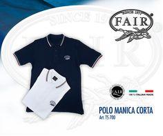 La Polo a manica corta F.A.I.R.® è disponibile online su F.A.I.R.-STORE®, acquista ora http://www.fair-store.com  T-shirt polo FAIR® is available online at F.A.I.R.- STORE® , buy it now here http://www.fair-store.com