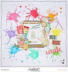 "Layout ""LIve Love Create"". | TantiK Creation | Bloglovin'"