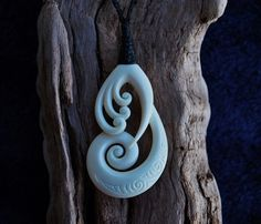 Hand carved in bone  Symbolising spiritual growth by JackieTump, $295.00