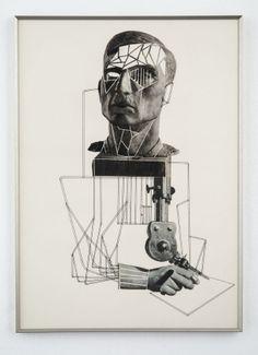 Eva Kotátková Untitled, 2013 collage on paper 60 x 42 cm