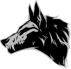 Wolf Skull drawing 'Wolf Skull' Sticker by tatiilange Animal Drawings, Cool Drawings, Skull Drawings, Animal Skull Drawing, Cute Wolf Drawings, Animal Skulls, Drawing Sketches, Dog Skull, Horse Skull