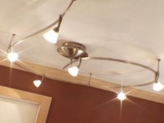 Install Track Lights for Instant Flair | Interior Design Styles and Color Schemes for Home Decorating | HGTV