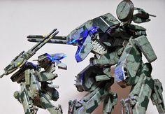 3ALegion feature: Metal Gear Solid   Metal Gear REX and REX Half-sized Edition, photographed by b_racoon (http://instagram.com/b_racoon). #threeA #WorldOf3A #WO3A #Kojima #Konami #MGS #MetalGearSolid #HideoKojima #YojiShinkawa #3ALegion