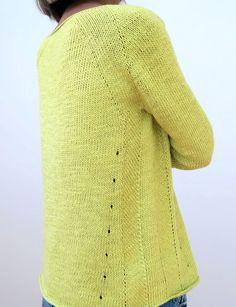 Вязание пуловера регланом по кругу