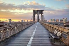 Brooklyn Bridge At Sunrise Photograph  - Brooklyn Bridge At Sunrise Fine Art Print