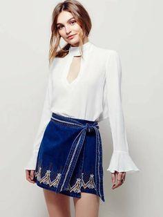 Saia Jeans Envelope - Compre Online | DMS Boutique
