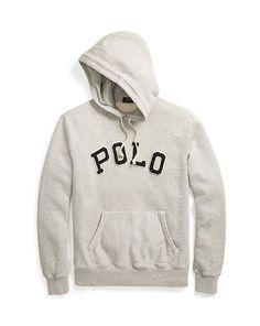 Cotton-Blend-Fleece Hoodie - Polo Ralph Lauren Sweatshirts - RalphLauren.com