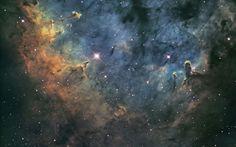 NGC 7822 Nebula wallpaper