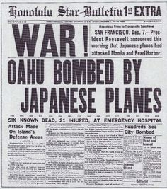 Honolulu Star newspaper headlines