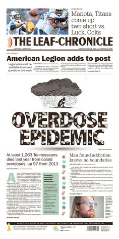 The Leaf-Chronicle 9/28/15 via Newseum