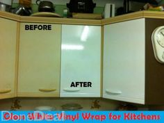Wrap your Kitchen, Furniture with Vinyl