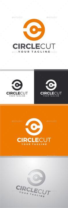 Circle Cut - Letter C Logo - Letters Logo Templates S Letter Logo, Letter C, Circle Logo Design, Circle Logos, Graphic Design, One Logo, Logo Ad, Finance Logo, Font Names