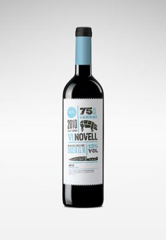Info Graphic + Packaging: Vi Novell Wine by Atipus