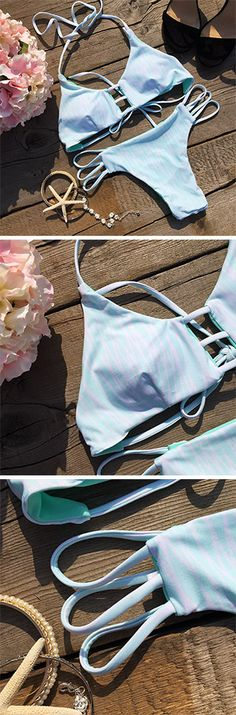 Its fashion style and hot beach wave make this bathing suit a dream to wear! Plus, you can't deny how trendy it is! Shop more hot pieces at Cupshe.com !