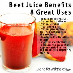 Drinking beet juice is a fantastic way to help your body absorb as much of the nutrients found in beets as possible.