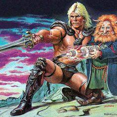 He-man and Gwildor