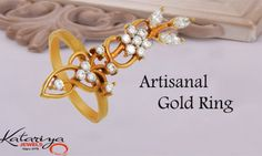 Spectacular Gold Ring in 22K Buy Now : http://buff.ly/22YWjLv COD Option Available With Free Shipping In India