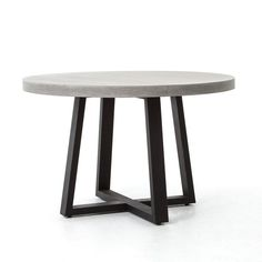 FOUR HANDS - CYRUS ROUND DINING TABLE - FH-VCNS-F006A — France & Son