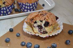 Blueberry Muffins a la Starbucks - Brenda Kookt!