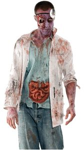 The Walking Dead -- Zombie Doctor Costume -- Adult