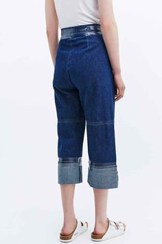 MM6 Long Denim Culottes - Urban Outfitters