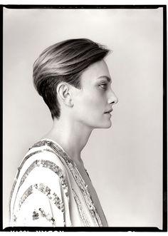 Laura Ponte fotografiada por Luz Jiménez #photo #model #gallery #madrid