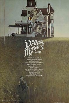 I love this Days of Heaven poster that looks like the cover of an old paperback.