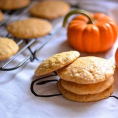 Spiced Sugar Cookies Soft and chewy, these Pumpkin-Spiced Sugar cookies will satisfy any sweet tooth.Soft and chewy, these Pumpkin-Spiced Sugar cookies will satisfy any sweet tooth. Fall Dessert Recipes, Fall Desserts, Fall Recipes, Sweet Recipes, Halloween Cupcakes, Pumpkin Recipes, Cookie Recipes, Macarons, Macaroon Cake