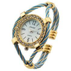 HACBIWA 2013 Cool Fashion Women Men Lady Rope Wrist Watches 5 colors