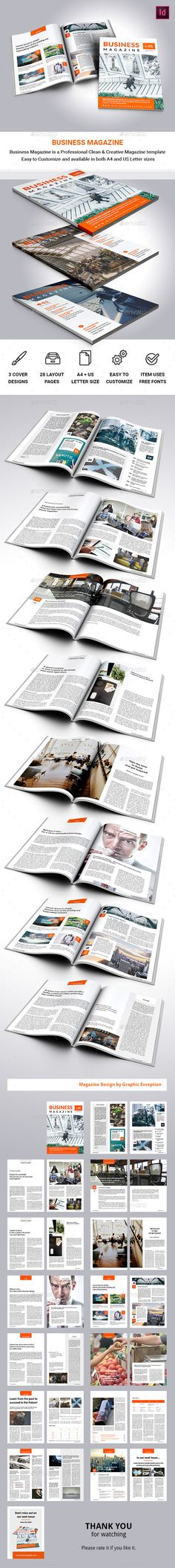 Business Magazine - Magazines Print Templates Download here : https://graphicriver.net/item/business-magazine/18927184?s_rank=107&ref=Al-fatih