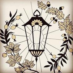 Lantern Tattoos - brooklyn Lantern Tattoo, Tatting, Lanterns, Brooklyn, Sweet, Home Decor, Candy, Decoration Home, Room Decor