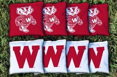 Wisconsin Badgers College Vault Replacement Cornhole Bag Set                                                                                                                                                                                 More