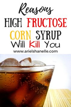 High fructose corn syrup health effects. How can you remove it from your diet and find foods without high fructose corn syrup? Health And Fitness Articles, Health And Wellness, Fructose Malabsorption, Organic Living, Healthy Food Choices, Food Facts, How To Eat Less, Health Matters, Corn Syrup
