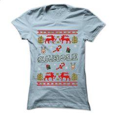 Christmas CAROLE ... 999 Cool Name Shirt ! - #tee trinken #awesome sweatshirt. GET YOURS => https://www.sunfrog.com/LifeStyle/Christmas-CAROLE-999-Cool-Name-Shirt-.html?68278