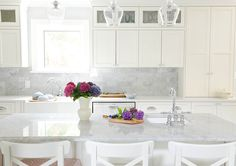 Kitchen Whites :  Tracy Stonehouse's kitchen for the latest issue of Style At Home the White issue :: Tracey Ayton Photography